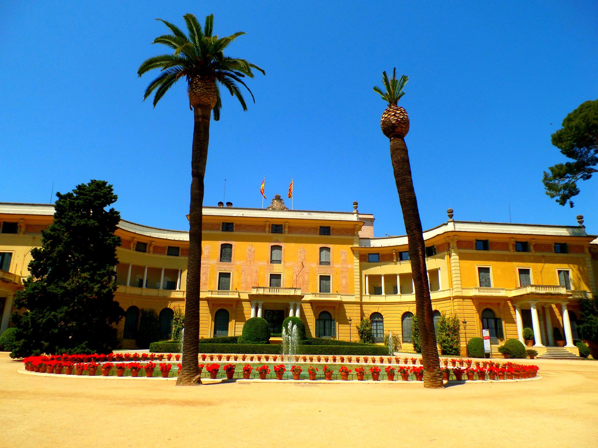 Jardines del Palau Reial, Barcelona